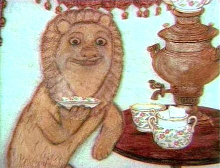 『ライオン ロシア精糖CM』
